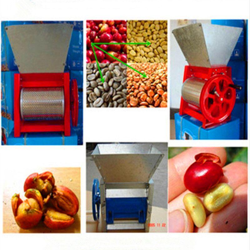 Commercial Manual Coffee Bean Sheller Peeling Machine Coffee Processing Equipment Fresh Coffee Beans Home Appliances Coffee Beans