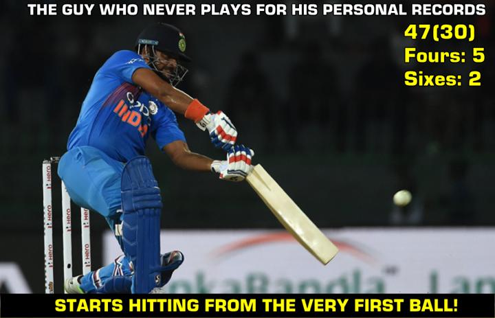Suresh Raina played a brilliant knock last night! INDvSL