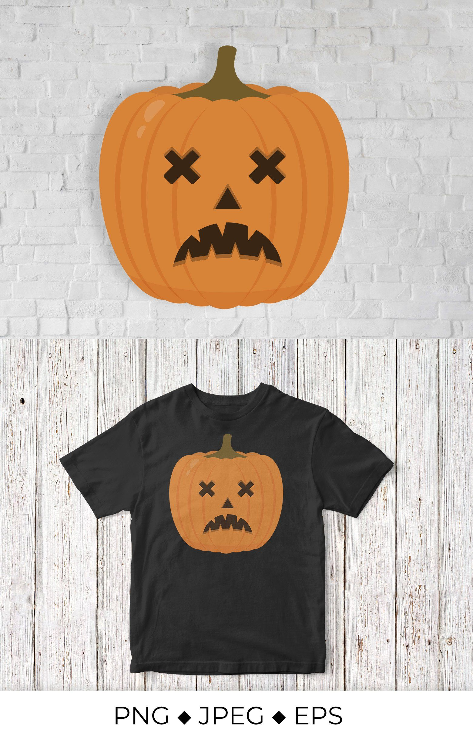 Halloween Pumpkin With Scary Face Jack O Lantern 960241 Sublimation Design Bundles Halloween Pumpkins Scary Faces Jack O Lantern