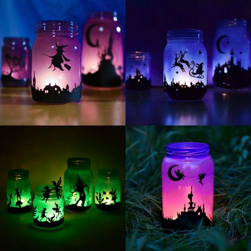 Fairy Lanterns from Mason Jars   Adventure in a Box