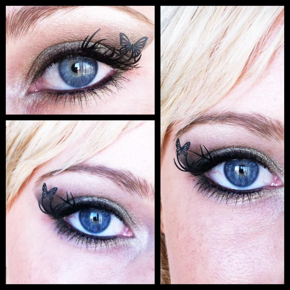 Love these paper lashes by Paperself Eyelashes, Hair