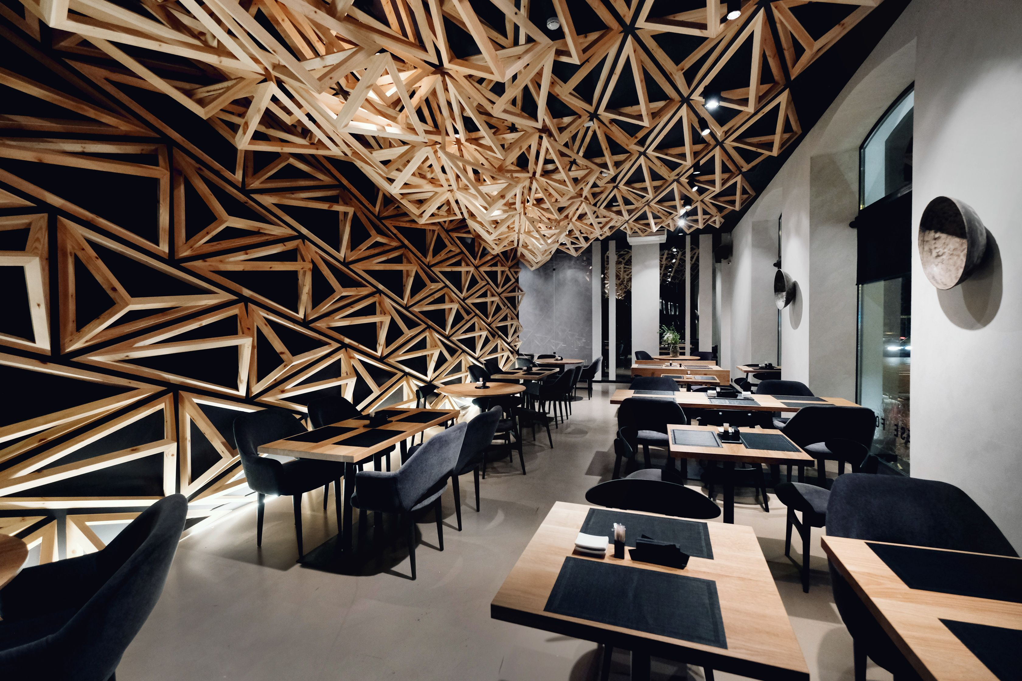 kido sushi bar, located in saint-petersburg, russia | architecture