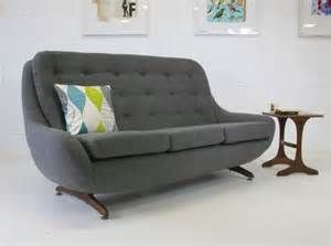Spencer Is A High Backed Super Comfy Stylish 1960s Egg Sofa
