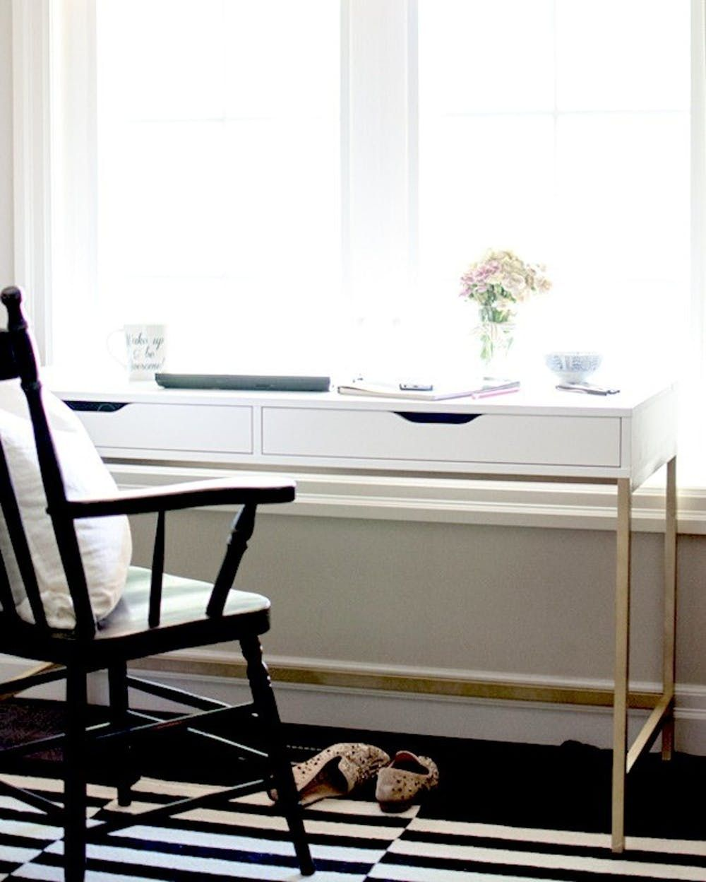 21 Ikea Desk Hacks For The Most Productive Workspace Ever Ikea Alex Desk Ikea Desk Ikea Desk Hack