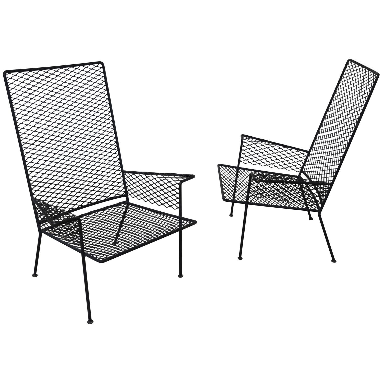 Outdoor Patio Chair Expanded Metal Mesh Availability Build to
