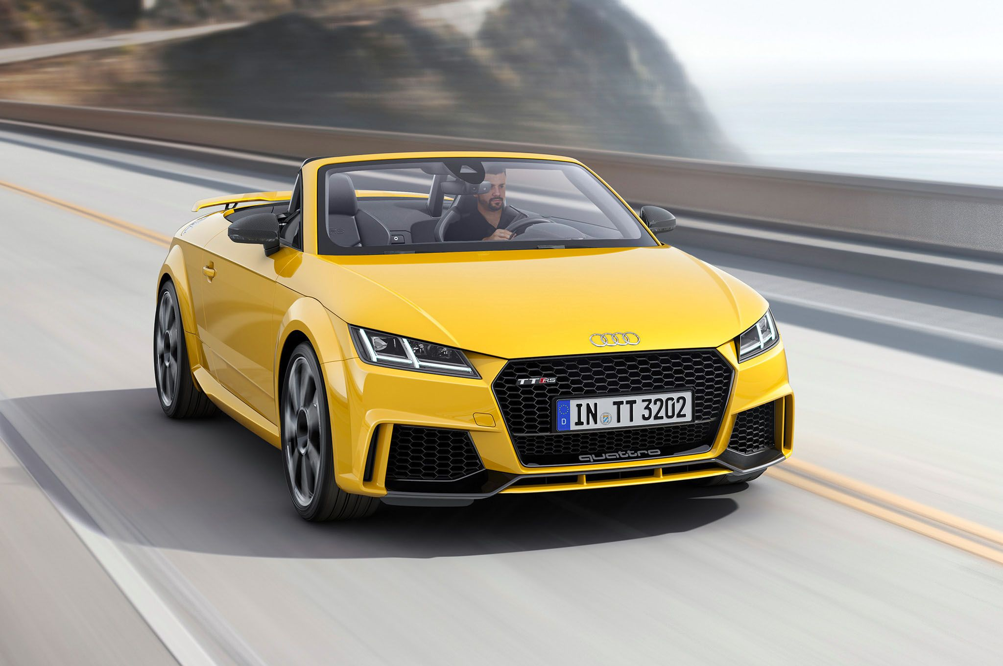 Image For 2017 Audi Tt Rs Convertible Widescreen Wallpaper