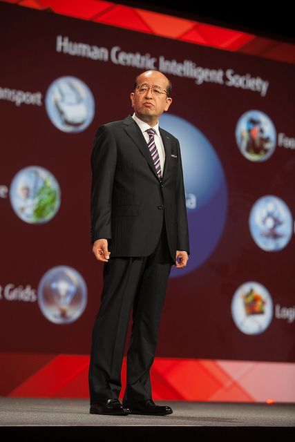 Noriyuki Toyoki, Fujitsu Keynote by Oracle_Photos_Screenshots, via Flickr