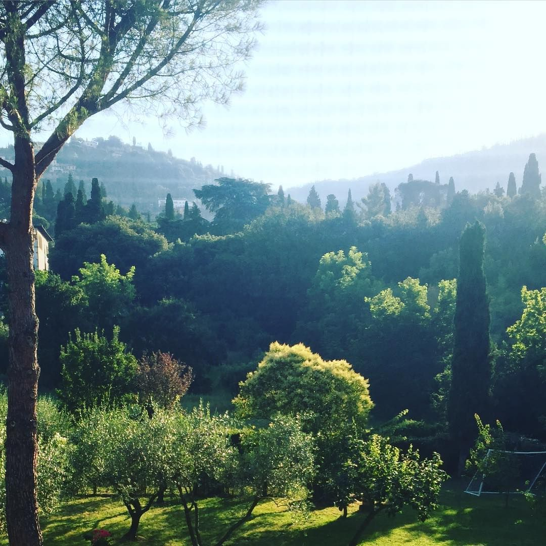 Early morning at home in Florence #carolinabucci #firenze