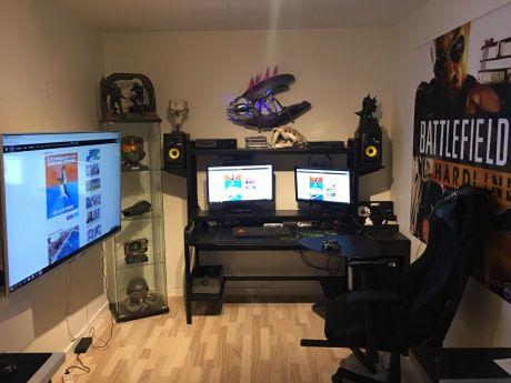 My battle station