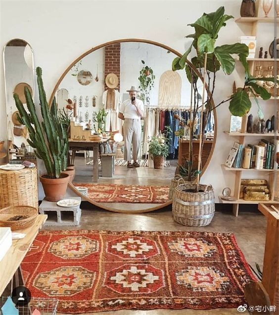 Photo of Cool Boho Styled Retail Store – Cozy Boho Corner: Steal The Look