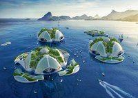Плавающие острова, созданные 3D-принтером