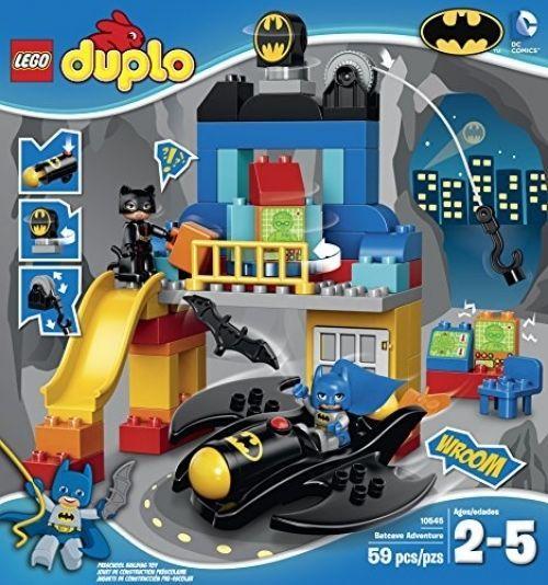 Toddler Boys Batman Theme Lego Set Super Hero with Large Blocks ages 2-5 #LEGO