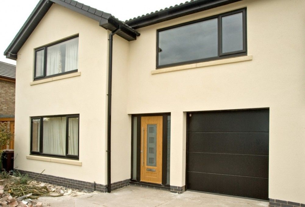 Black Upvc Windows >> Black Upvc Windows Irish Oak Rock Door For My Future House Oak