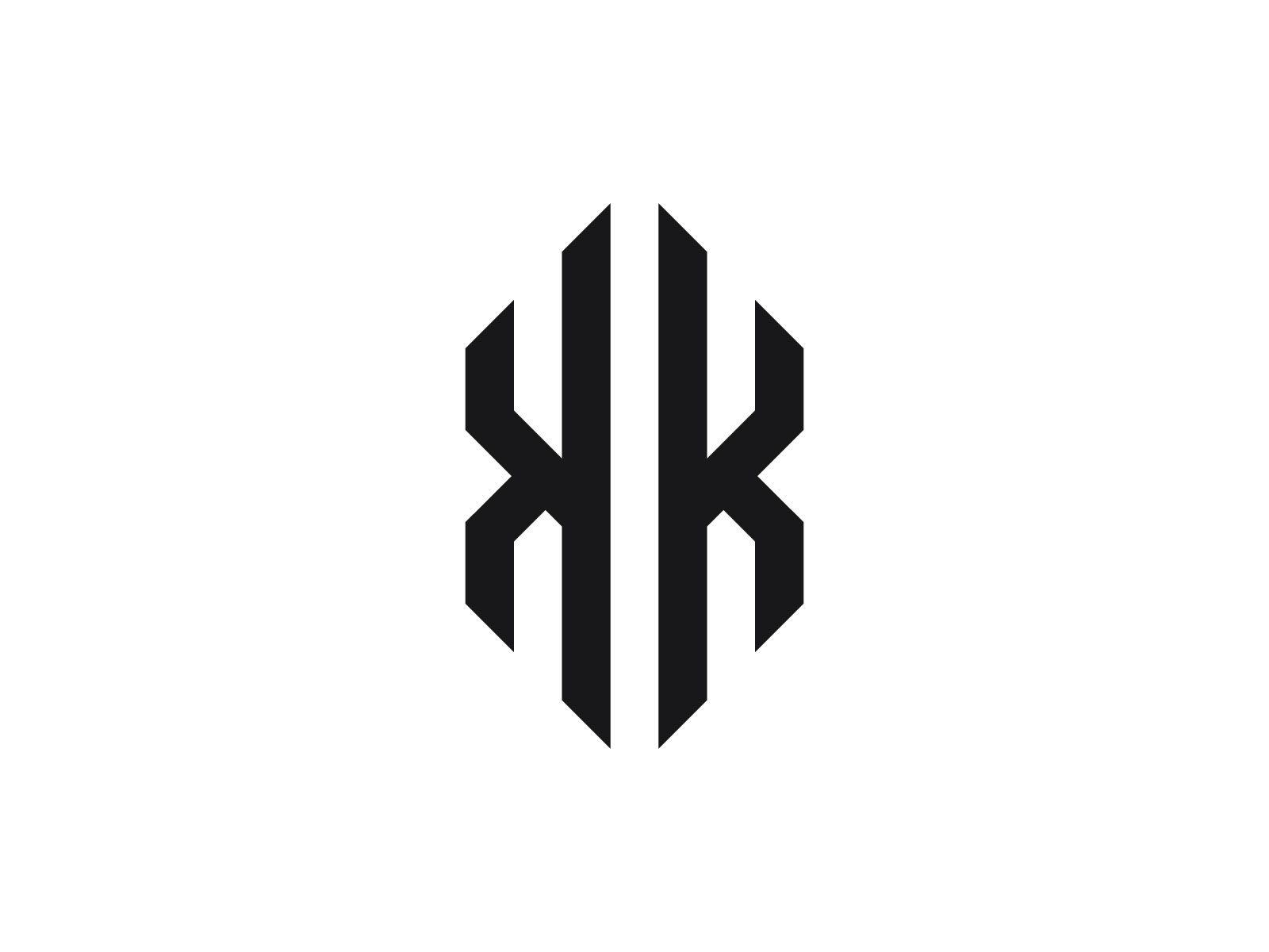 Kk Monogram Logo Antique Logo Design Monogram Logo Monogram Logo Design Letter k k logo design hd