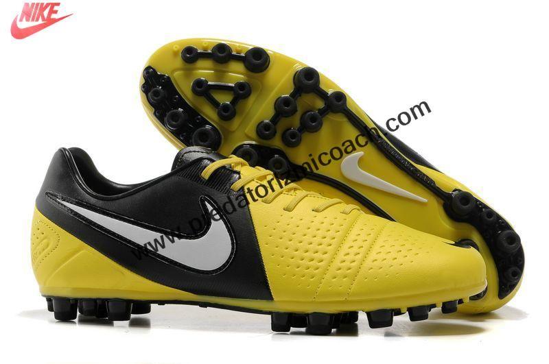 de9106652b6 Buy New Nike CTR360 Maestri III AG Yellow Black White Soccer Shoes Soccer  Shoes For Sale