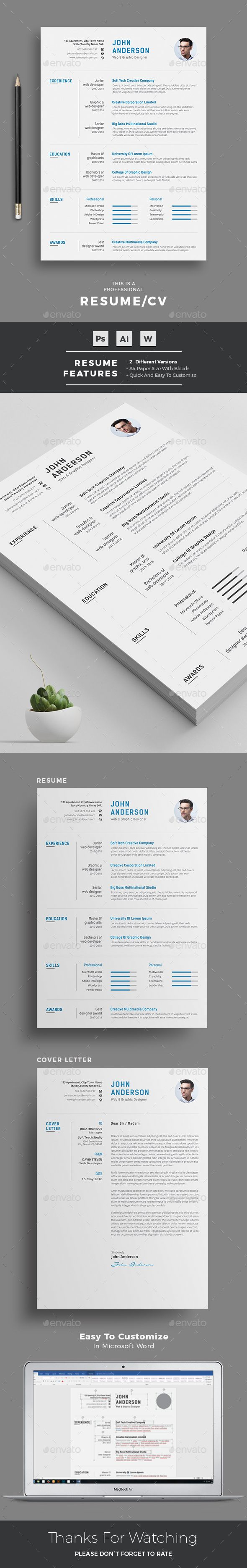 Resume  Template Creative Resume Templates And Stationery Design