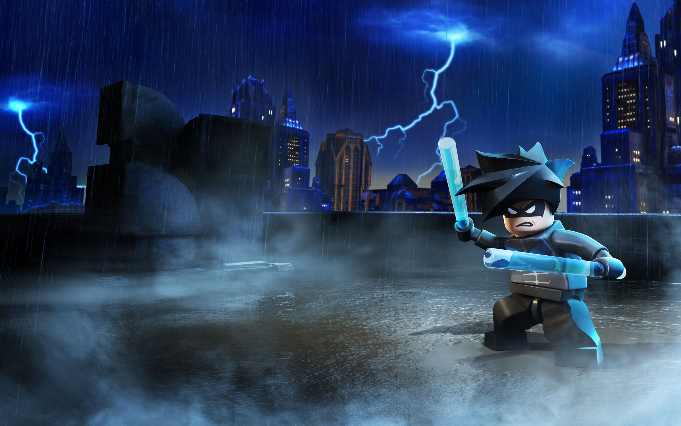 Lego Batman - This HD N/A wallpaper is taken from N/A Lego Marvel Super Heroes. Played by Adrian Pasdar, Andrew Kishino, Clark Gregg, Danielle Nicolet.