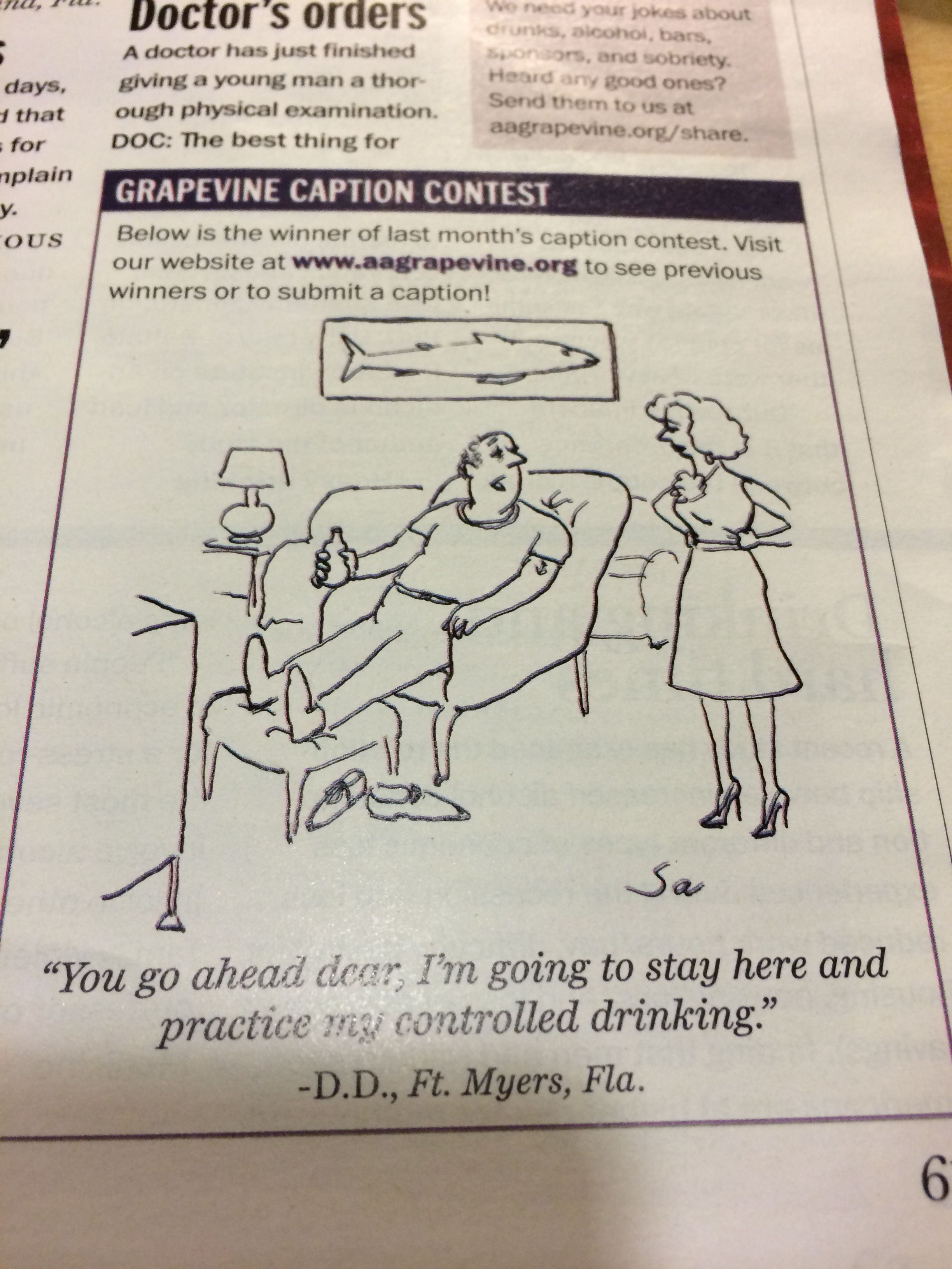 Aa Grapevine Jokes : grapevine, jokes, Addictions/Recovery/Sarcasm, Humor