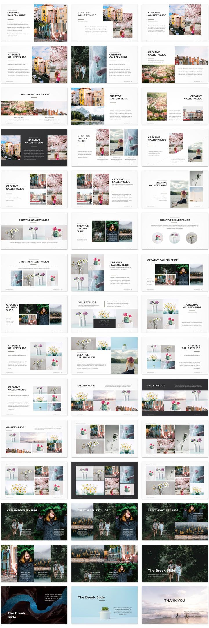 Creative gallery presentation template slide powerpoint art creative gallery presentation template slide powerpoint art pinterest presentation templates template and creative toneelgroepblik Images