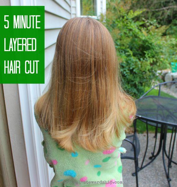 My easy diy 5 minute layered haircut layer haircuts layered my easy diy 5 minute layered haircut voltagebd Choice Image