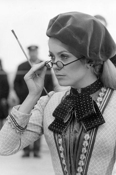 """Im März 1968 bei den Dreharbeiten zu """"Mayerling"""" in Venedig"""