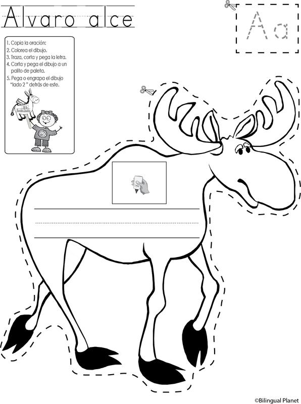 Paginas reproducibles de Las vocales del animalfabetoJoin The ...