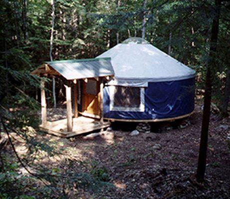 Hike In Yurt Camping 95 A Night Far Upstate Ny I Want