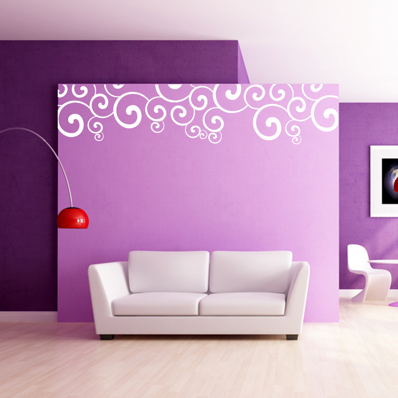 Wall Sticker Decal Art | Tweet Swirl Wall Sticker Wall Stickers From Abode  Wall Art