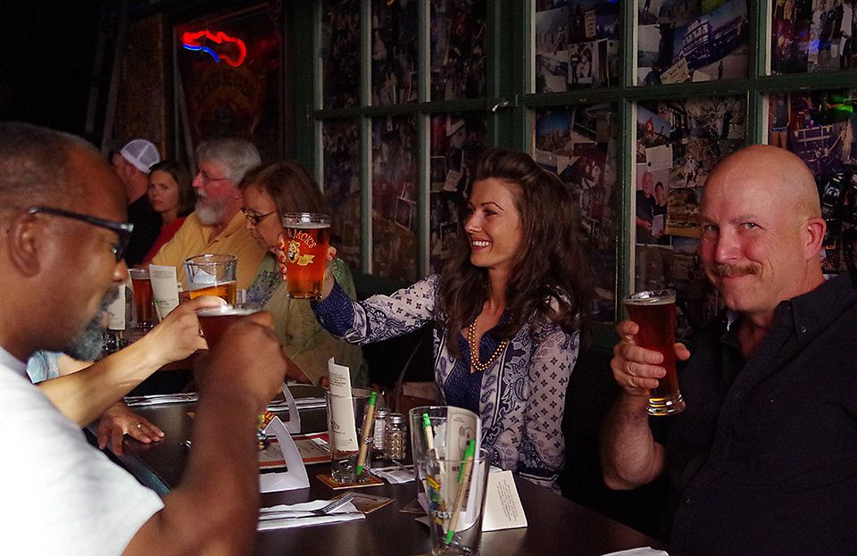 Sierra Nevada Beer Dinner, The Swiss restaurant and Pub, Tacoma, July 30, 2015
