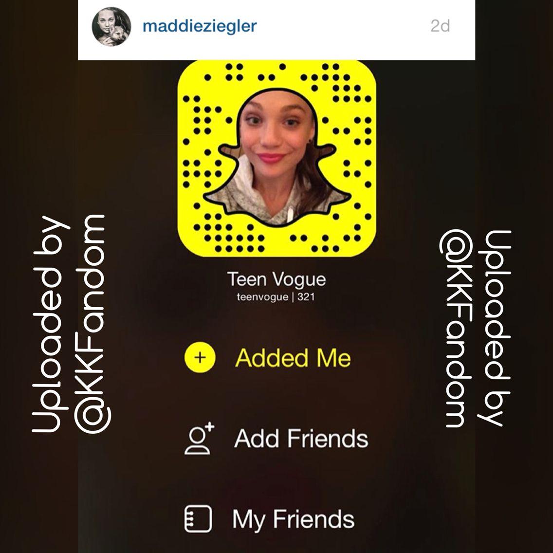 Dance Moms Snapchat