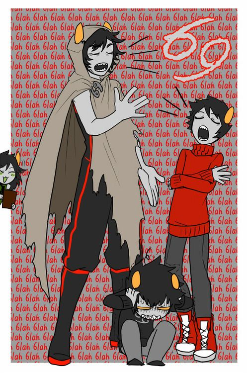 Karkat, Kankri, The Sufferer, Homestuck, Double-Triggered
