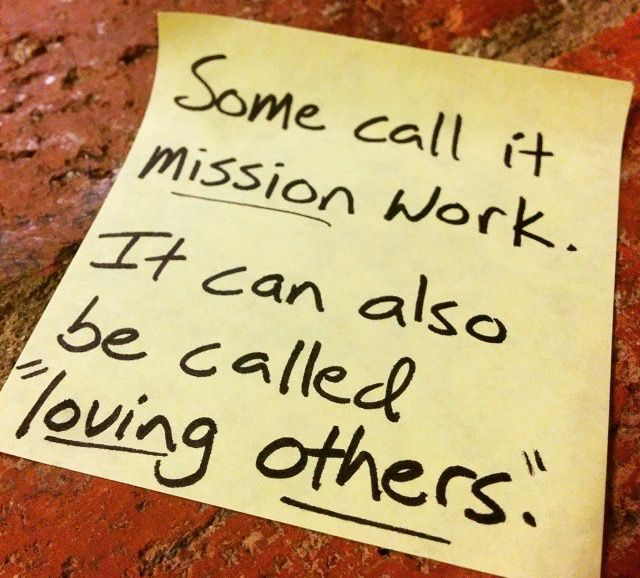 ...or obedience to Christ | Love others ️ | Mission trip ...