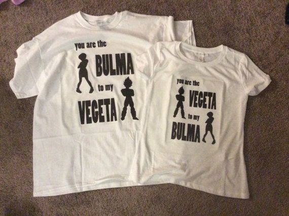 4f40c57f DBZ Inspired Bulma and Vegeta Couples Shirts by 123FourthPlayer ...