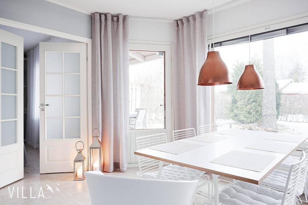 Friday  Tätä kaunista kotia voi ihastella lisää blogissa ☺ ➡ www.villalkv.fi/kaunis-vaalea-skandinaavi  . . . #asuntounelmia_unelmaasuntoja . . . Rivitalo, 3h+k+s, 80 m2, Tampere, Hervanta, Kanjoninreuna 2 B (paikassa VILLA LKV)