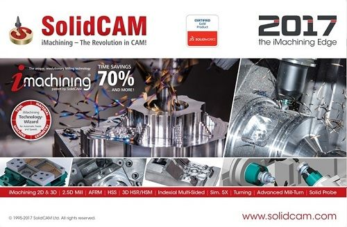 SolidCAM 2017 SP1 HF3 Multilang for SolidWorks 2012-2018 x64