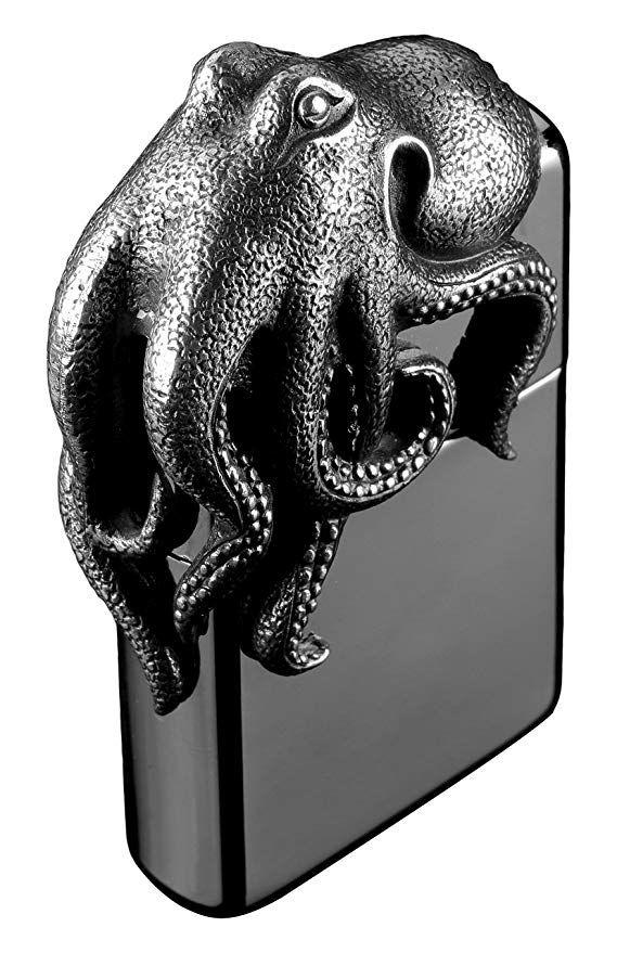 Zippo 2004722 Más Ligero, Octopus: Amazon.es: Hogar ...