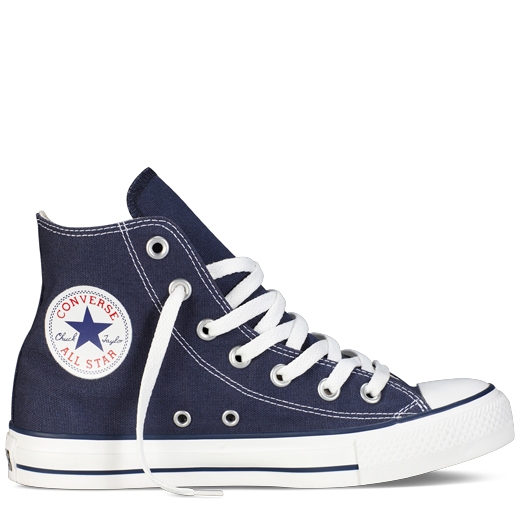 ac373f51055 Navy Blue High Top Chuck Taylor Shoes   Converse Shoes
