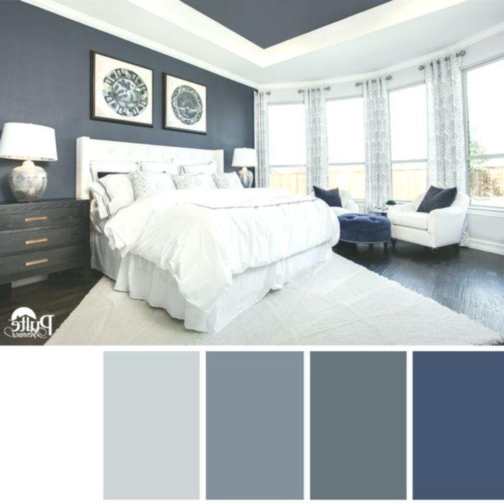 Dieses Schlafzimmer Hat Die Richtige Idee. Die Satte Blaue