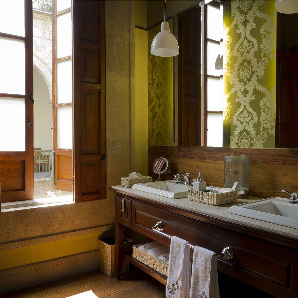 Baño Habitación Jr Suite Hotel Boutique Casa Grande Morelia
