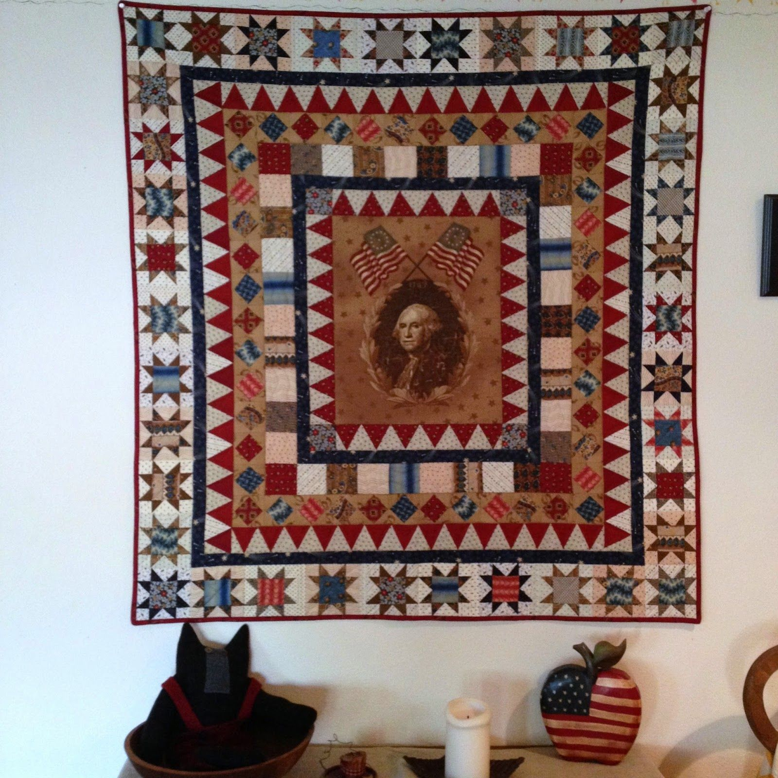 Independence Day in USA! | Medallion quilt, Patriotic quilts and ... : quilts usa - Adamdwight.com
