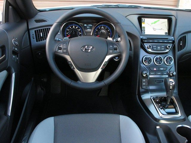 2009 Hyundai Genesis Interior | 2013 Hyundai Genesis Coupe: Gauges And  Center Stack Are New