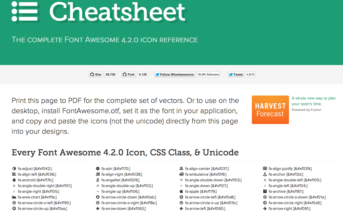 29 MustHave Cheat Sheets for Web Designers Web Design