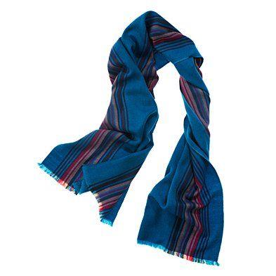 madewell serape stripe scarf