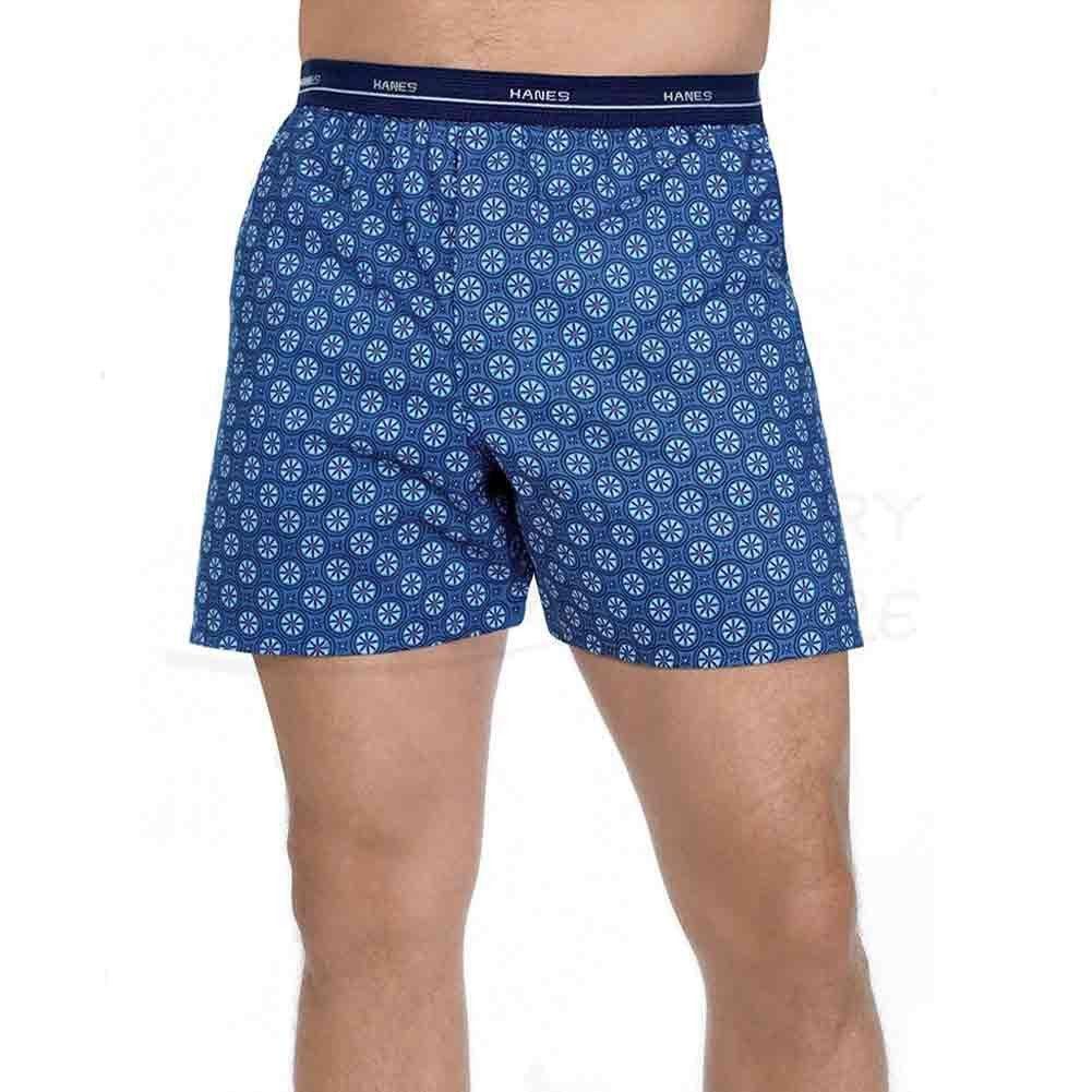 Hanes mens red label comfort flex woven boxers 832bx5