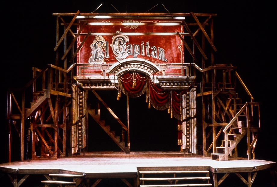 El Capitan  Conservatory of Music, U of Cincinnati     ++ Set Design by Paul Shortt ++