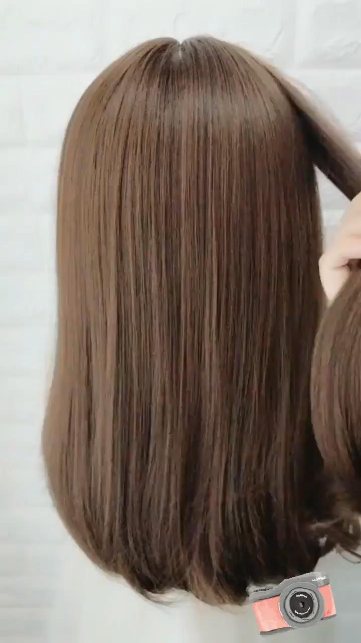 Super Simple Shawl Hairstyle In 2020 Medium Hair Styles Short Hair Styles Easy Easy Hairstyle Video