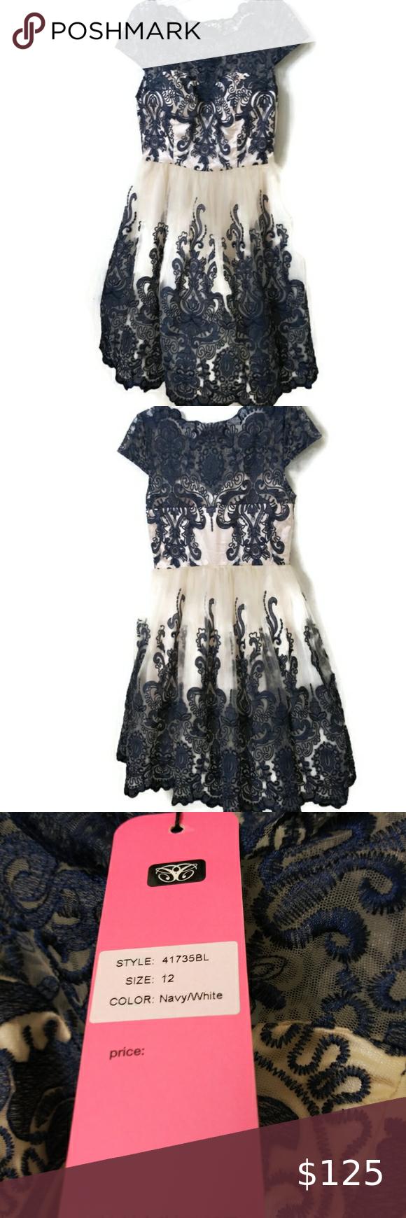 Chi Chi London Exquisite Elegance Lace Dress  12 Chi Chi London dress Size 12. C…