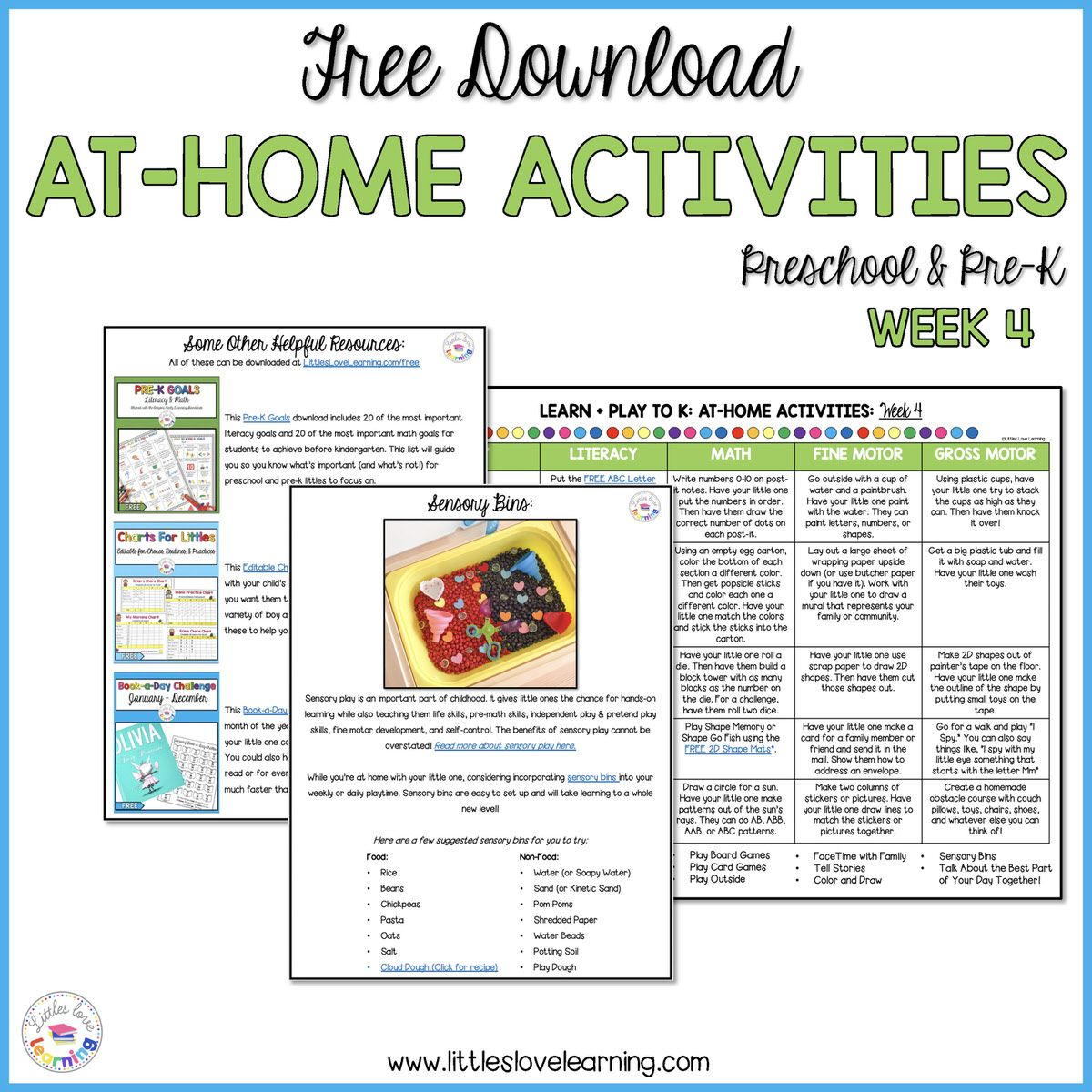 Easy Low Prep At Home Activities For Preschool And Pre K Literacy Activities Preschool Free Preschool Activities Preschool Activities Preschool reading activities at home
