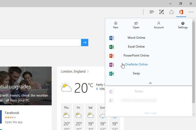 Microsoft Working On An Office Extension For The Edge Browser Online Powerpoint Microsoft Word Online
