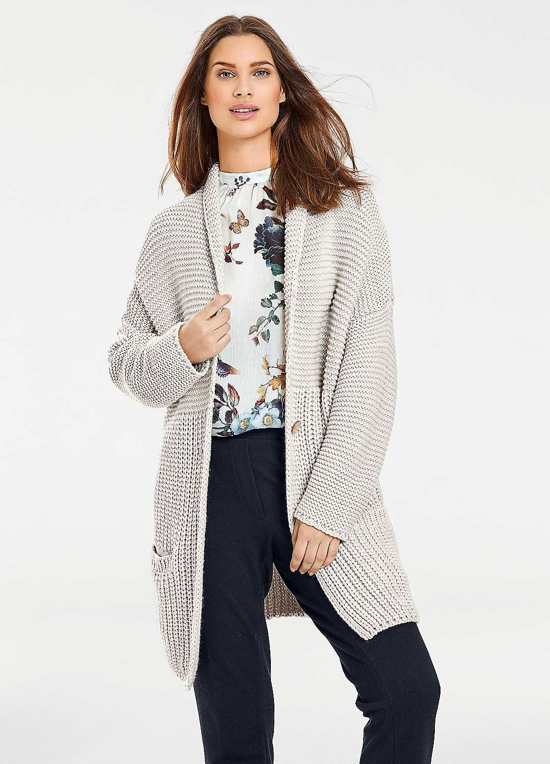 34e959a23d592e Best Connections Oversized Cardigan Heine, Oversized Cardigan, Winter  Trends, Boden, Trends 2018